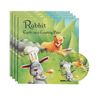 Rabbit Cooks Up a Cunning Plan! - 4 Paperback Books and 1 CD