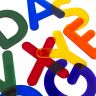 "3"" Jumbo, Translucent Alphabet Letters for Light Table Play 26 Pieces"