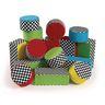 Excellerations® Soft Baby Bricks & Cakes Plush Blocks Set