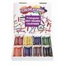 Colorations® Non-Roll Dry-Erase Crayon Classroom Pack - Set of 96