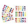 Colorations® Familiar Shapes Stickers - 60 Sheets