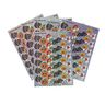 Halloween Sparkle Stickers - 6 Sheets