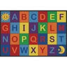 "Alphabet Seating Rug - 5'10"" x 8'5"" Rectangle"