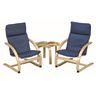 Kiddie Rocker Chair & Sofa Set - Blue