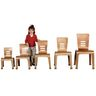 """14""""H Bentwood Chair, Natural - Set of 2"""