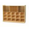 Value Line™ Birch 15-Tray Multi-Storage - With Clear Trays