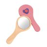 Colorations® Wooden Hand Mirrors - Set of 12