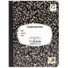 Writing Journal, 100 Sheets - Marble Black
