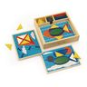 Beginner Pattern Block Puzzles - 35 Pieces