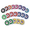 Colorations® Stack of Washable Stamp Pads - 20 Pieces