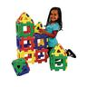 Giant Polydron Building Set - 40 Pieces