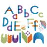 Letter Construction Activity Set - 73 Pieces