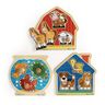 Jumbo Animal Knob Puzzles - Set of 3