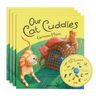 """""""Our Cat Cuddles"""" - 4 Paperback Books and 1 CD"""