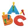 Tall-Stacker™ Lower- and Uppercase A-Z Pegboards
