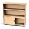 TrueModern® Straight Shelf Storage - 2 Shelves