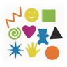 Colorations® Buckets of Fun Foam Shapes - Set of 6