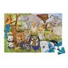 Jumbo Animal Floor Puzzle - Endangered Species