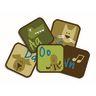 """Nature Learning 12"""" Blocks - Set of 26 Kids Value PLUS Carpet Squares"""