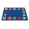 """Just Right Learning Rug, Shapes - 4'8"""" x 5'10"""" Rectangle"""