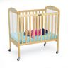 Angeles® Compact Adjustable Crib w/Clear Panels