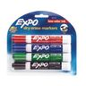 Expo® Chisel Tip Dry-Erase Markers - Set of 4 Colors