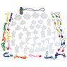 Colorations® Sand Art Necklace & Key Chain Group Pack