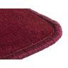 """Solid Color Carpet - Cranberry 8'5"""" x 11'9"""" Rectangle"""