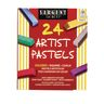 Square Chalk Pastels - Set of 24