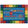 Always Be Joyful 6' x 9' Rectangle Kids Value PLUS Carpet