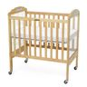Fixed-Side Natural ClearView Crib