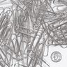 Officemate® Recycled Giant Paper Clips - Box of 100
