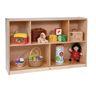 "30"" Divided Shelf Storage Cabinet"