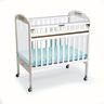 Angeles® Safe-T-Side® Crib - White, Clear View