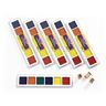 Colorations® Washable Stamping Palette - Set of 6