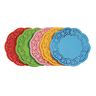 """Colorations® 6"""" Assorted Round Doilies - Pack of 120"""