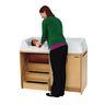 Angeles® Changing Table with Stairs