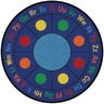 "ABC Dots Carpet - 6'6"" Round"