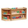 "Environments® 24"" Forest Wood Compact Shelves"