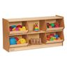 "Environments® 24"" Forest Wood Bin Storage"