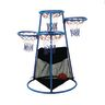 Multi-Ring Basketball Stand