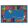 Alpha Fun Train ValuePLUS™ - 8' x 12' Rectangle