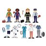Excellerations® Magnetic Career Dressing Dolls 93 Pieces