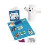 Polar Bear Puppet & Props with Board Book