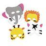 Colorations® Wild Animal Foam Masks, Set of 12