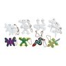 Colorations® Decorate Your Own Critter Keychains - Set of 12