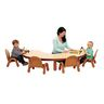 Angeles® BaseLine® Kidney-Shaped Toddler Table & 4-Chair Set