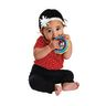 Infant Fun Shapes Musical Rattles - 4 Pieces