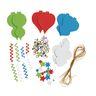 Colorations® Fancy Foam Ornaments - Kit for 12