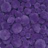 Colorations® Pom-Poms, Purple - 100 Pieces
